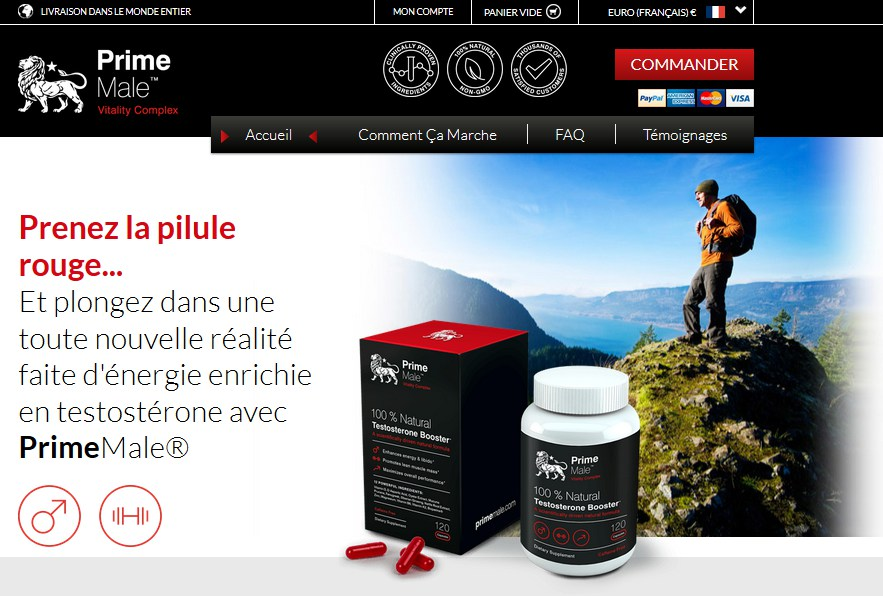 prime male site officiel
