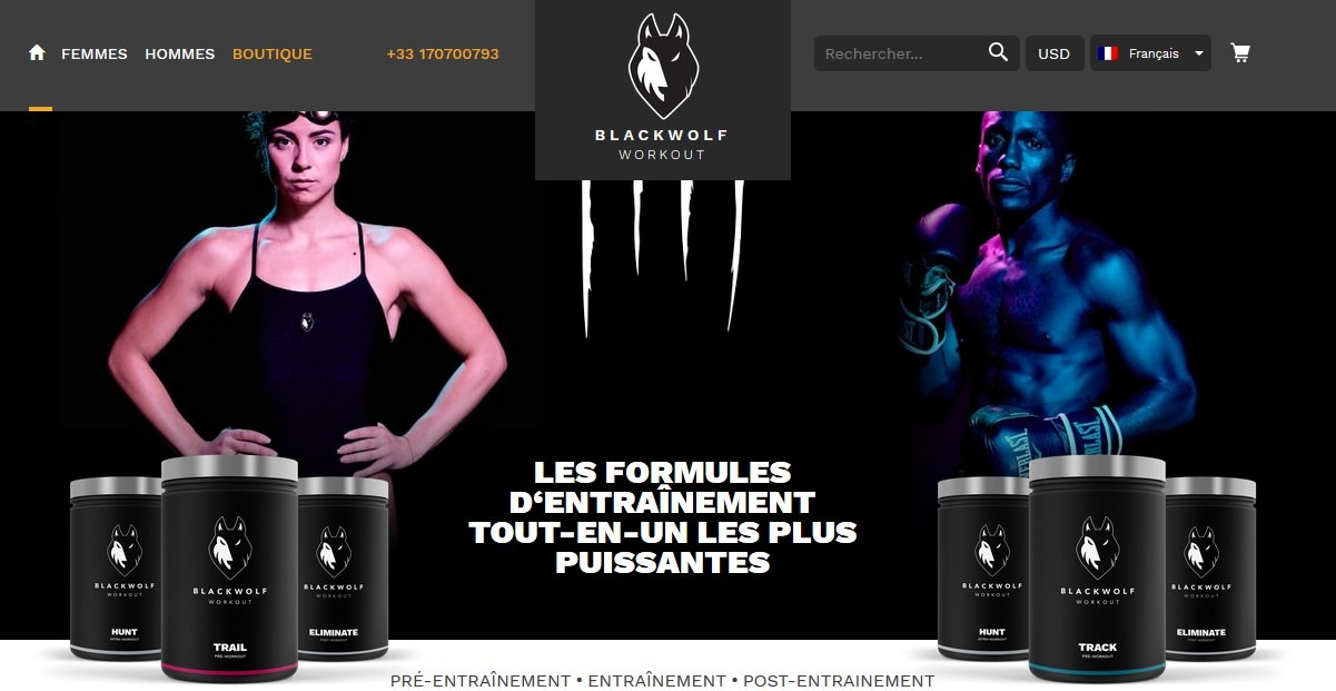 blackwolf site officiel
