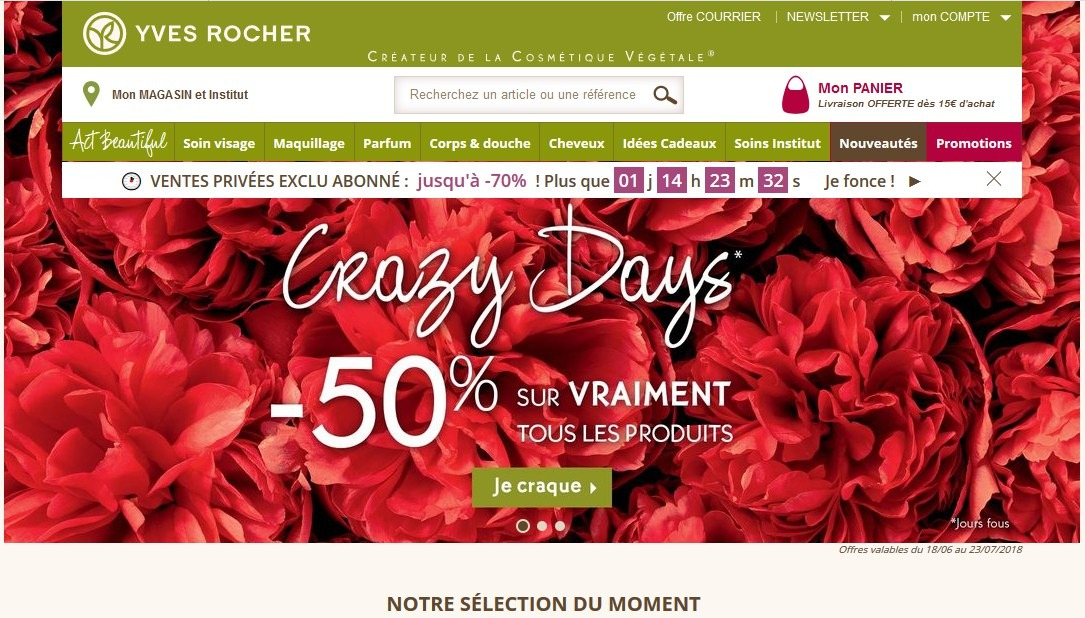 yves rocher site officiel