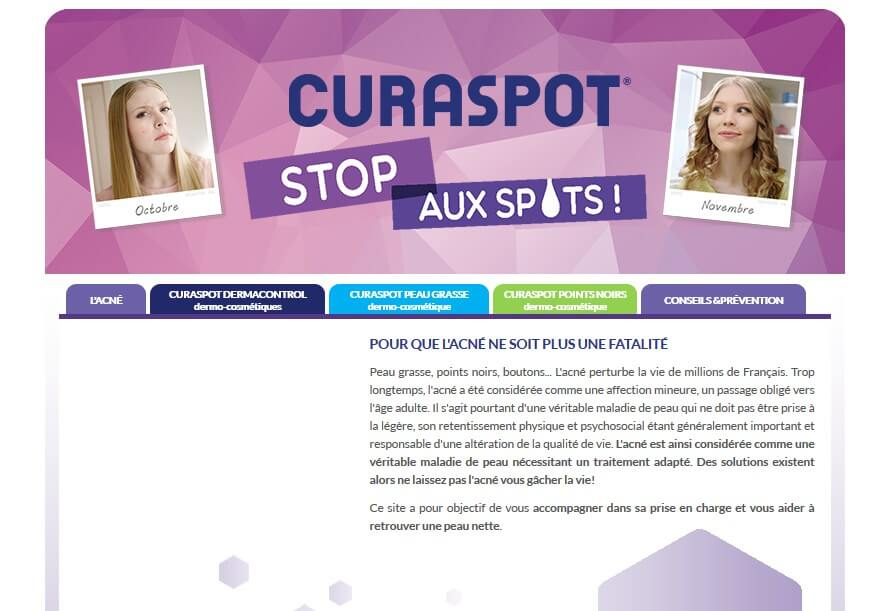 curaspot site officiel