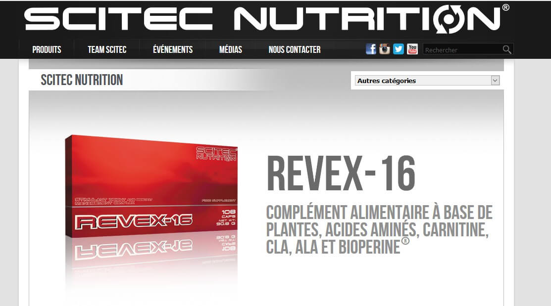 revex-16 site officiel
