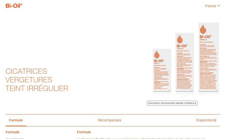 bio-oil site officiel