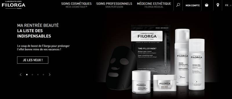filorga site officiel