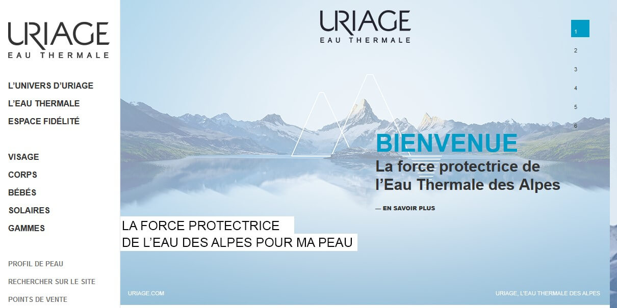 uriage site officiel