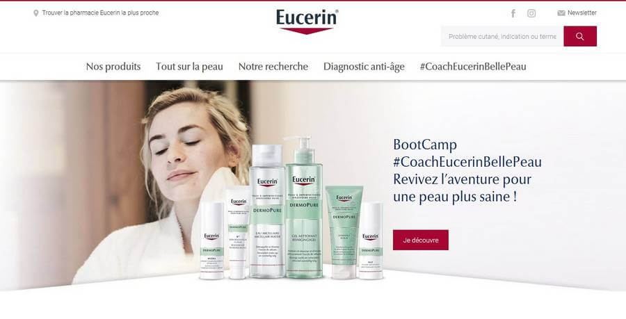eucerin site officiel